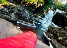 Спальный мешок мумии The Creek Стоковая Фотография RF