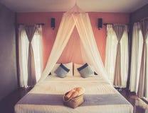 Спальня Бали любовника Стоковое Фото