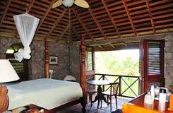 Спальня в рае Стоковое Фото