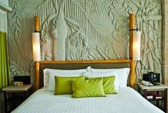 Спальня гостиницы Стоковое Изображение RF