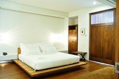 Спальня гостиницы Стоковая Фотография