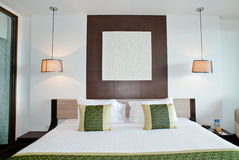 Спальня гостиницы Стоковые Изображения