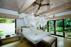 Спальня гостиницы Стоковое фото RF