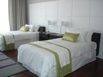 Спальня гостиницы Стоковые Фото