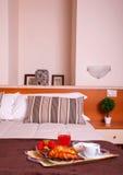 Спальня гостиницы Ares Стоковые Фото