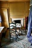 Спальня Джорджа Вашингтона на парке кузницы долины Стоковое фото RF