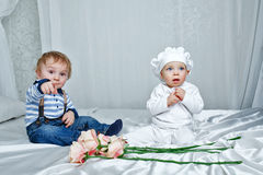 Спальня игры детей Стоковые Изображения