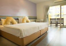 Спальня, изображение дома внутреннее Стоковая Фотография RF