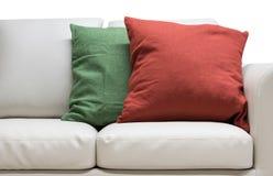 Спальня изолированная подушкой Стоковые Изображения
