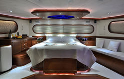 Спальня парусника Стоковое фото RF