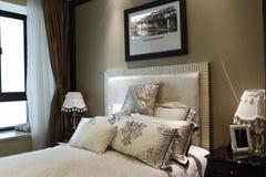 Спальня ребенка в модельной комнате квартиры Стоковые Изображения RF