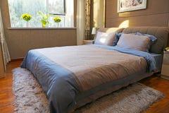 Спальня семьи стоковая фотография rf