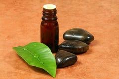 спа эфирного масла стоковое фото