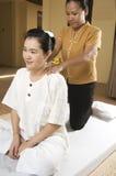 спа 2 массажей тайская Стоковое фото RF