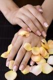 спа manicure Стоковая Фотография RF