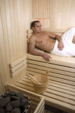 спа sauna Стоковая Фотография RF