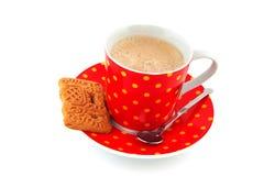 спеклы кофейной чашки Стоковые Изображения