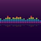 Спектральный анализатор Стоковая Фотография RF