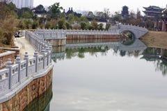 Спектр озера-Qingyun Qinyun Стоковые Изображения