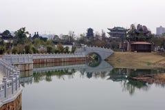 Спектр озера-Qingyun Qinyun Стоковая Фотография RF