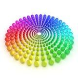 Спектр Стоковое Изображение RF