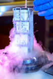 Сперма и банк образцов яичек Стоковые Изображения