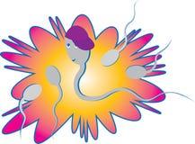 сперма Стоковые Изображения