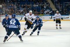 Сперма 45 Kokuev на хоккее Стоковые Фото