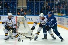 Сперма 45 Kokuev на хоккее Стоковые Изображения RF