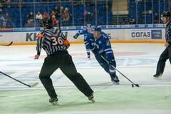 Сперма 45 Kokuev на хоккее Стоковые Фотографии RF