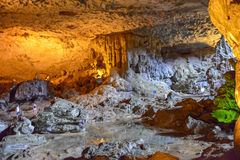 Спетая видом пещера sot в заливе ha длинном, Вьетнаме Стоковое Фото