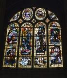 специализированная часть окна paris церков готская самомоднейшая Стоковое Фото