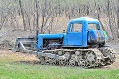 Специальная сельскохозяйственная техника - трактор с колесами crawler Стоковая Фотография RF