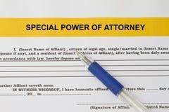 Специальная сила концепции юриста Стоковые Фото