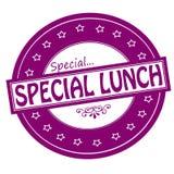 Специальный обед бесплатная иллюстрация