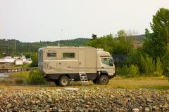 Специализированный дом на колесах импортированный от Германии Стоковая Фотография RF