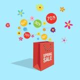 Специальная весна, символ скидки продажи предложения лета Стоковые Фотографии RF