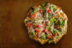 Специальная пицца Стоковые Изображения