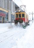 Трам удаления снежка Стоковые Изображения RF