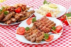 Специальность зажарила - зажаренное мясо Стоковое Фото