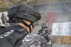Специальный антитеррористический отряд Стоковое Изображение RF