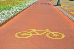 Специальный велотрек для перехода Стоковая Фотография RF