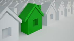 Специальный дом, самая лучшая концепция приобретения Стоковое Изображение
