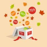 Специальный символ скидки продажи предложения падения Стоковое фото RF