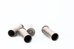 38 специальных кожухов раковины изолированных на белой предпосылке Стоковая Фотография