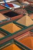 Специи в турецком рынке Стоковое Изображение RF