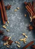 Специи для чая masala Стоковое Изображение