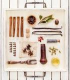 Специи и травы Стоковое Изображение RF
