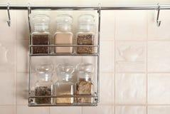 специи кухни установленные Стоковое Изображение RF
