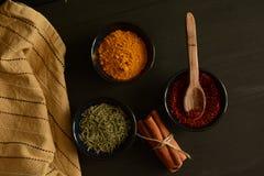 Специи на кухне Стоковые Изображения RF